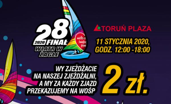 Toruń: Sportowcy zagrają z WOŚP