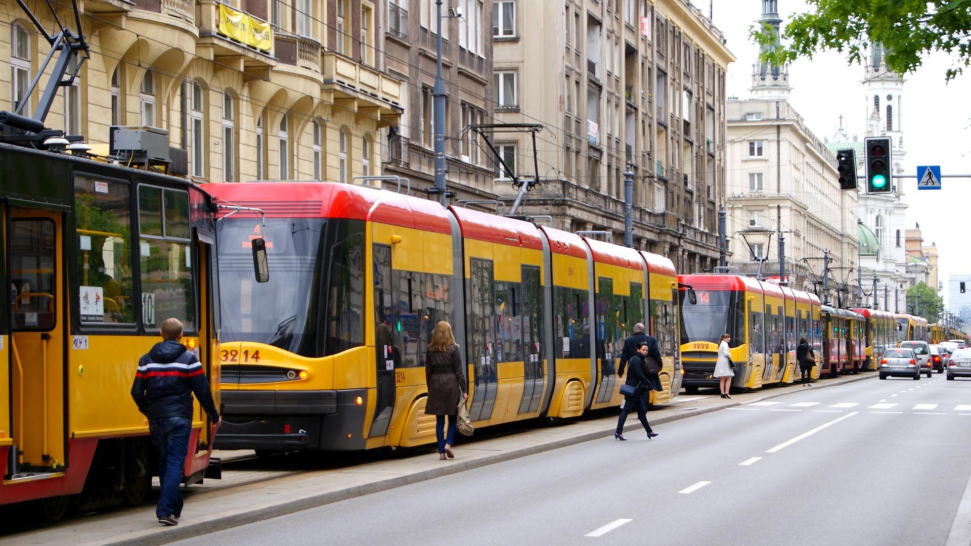 Warszawa: Do wylicytowania kurs jazdy tramwajem