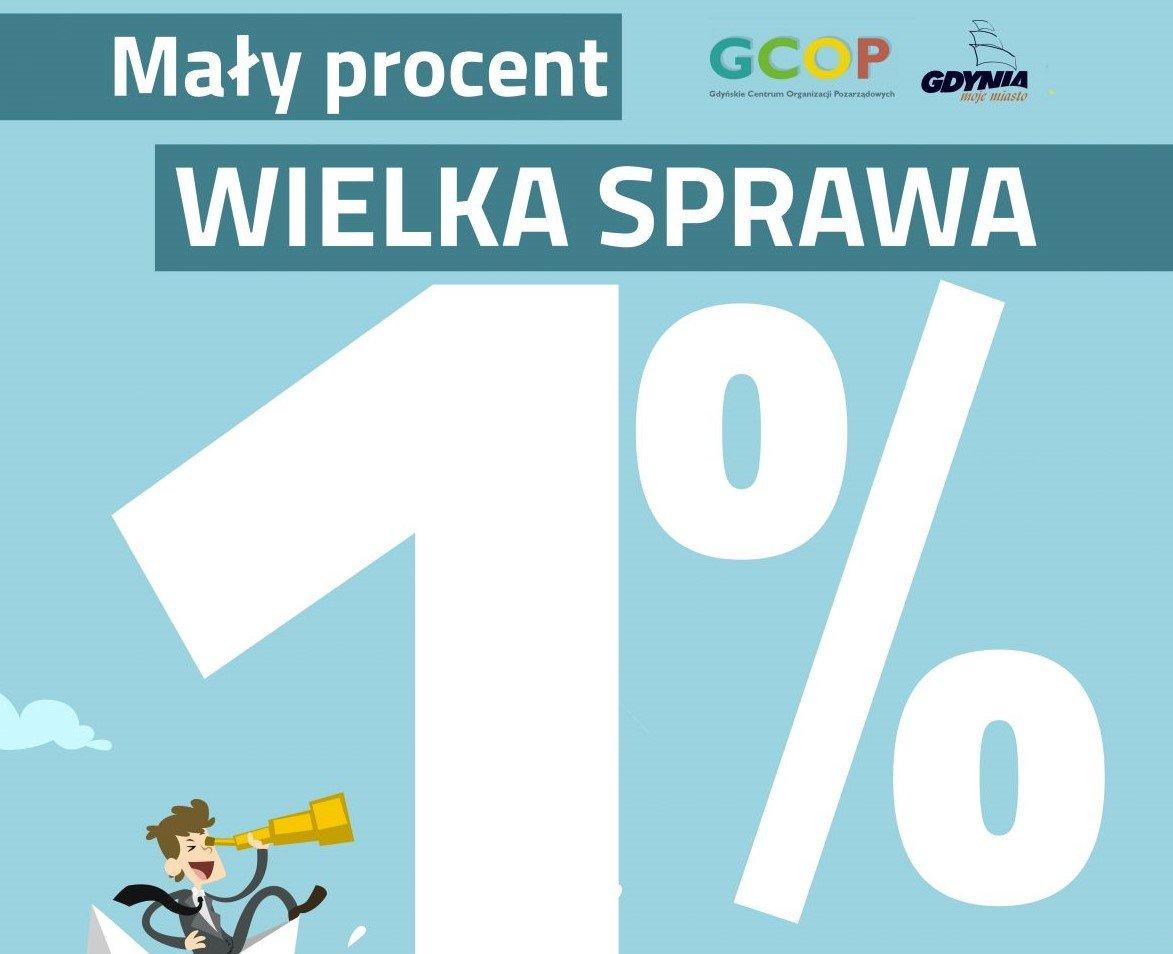 """Gdynia: Rusza kampania """"Mały procent – wielka sprawa!"""""""