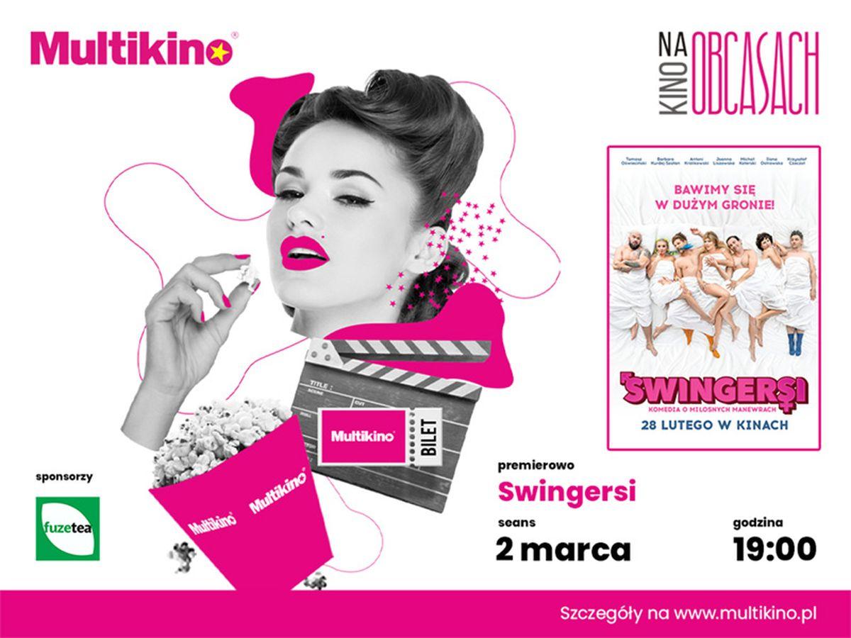 """""""Swingersi"""" premierowo 2 marca w ramach cyklu  """"Kino na Obcasach"""""""