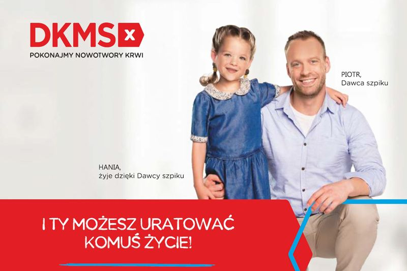 Kraków: Zarejestruj się w bazie dawców