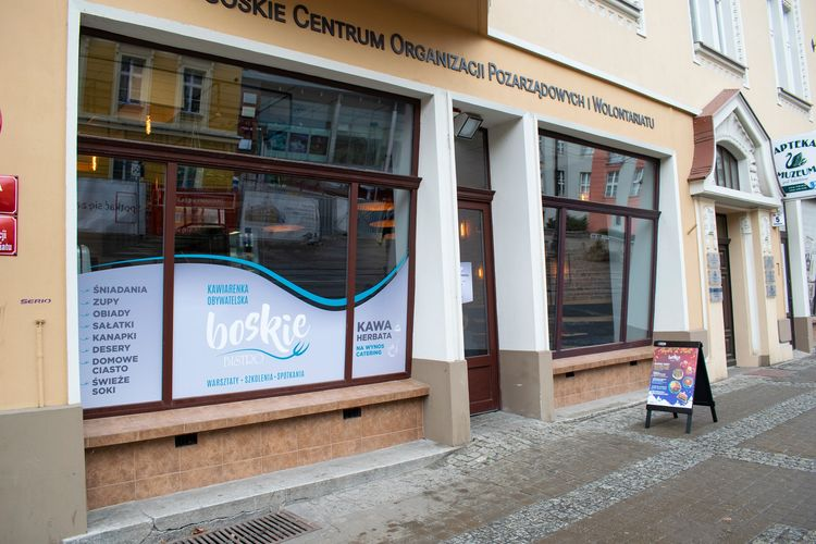 Kawiarenka obywatelska w BCWOP ponownie otwarta