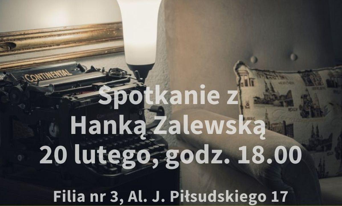Hanka Zalewska w  Klubie Dojrzałego Czytelnika