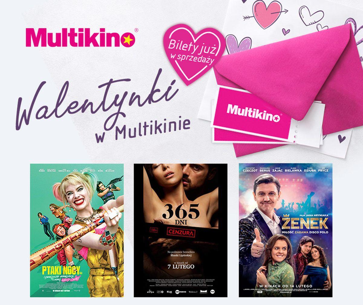 Walentynki w Multikinie –  spędź je na swój sposób