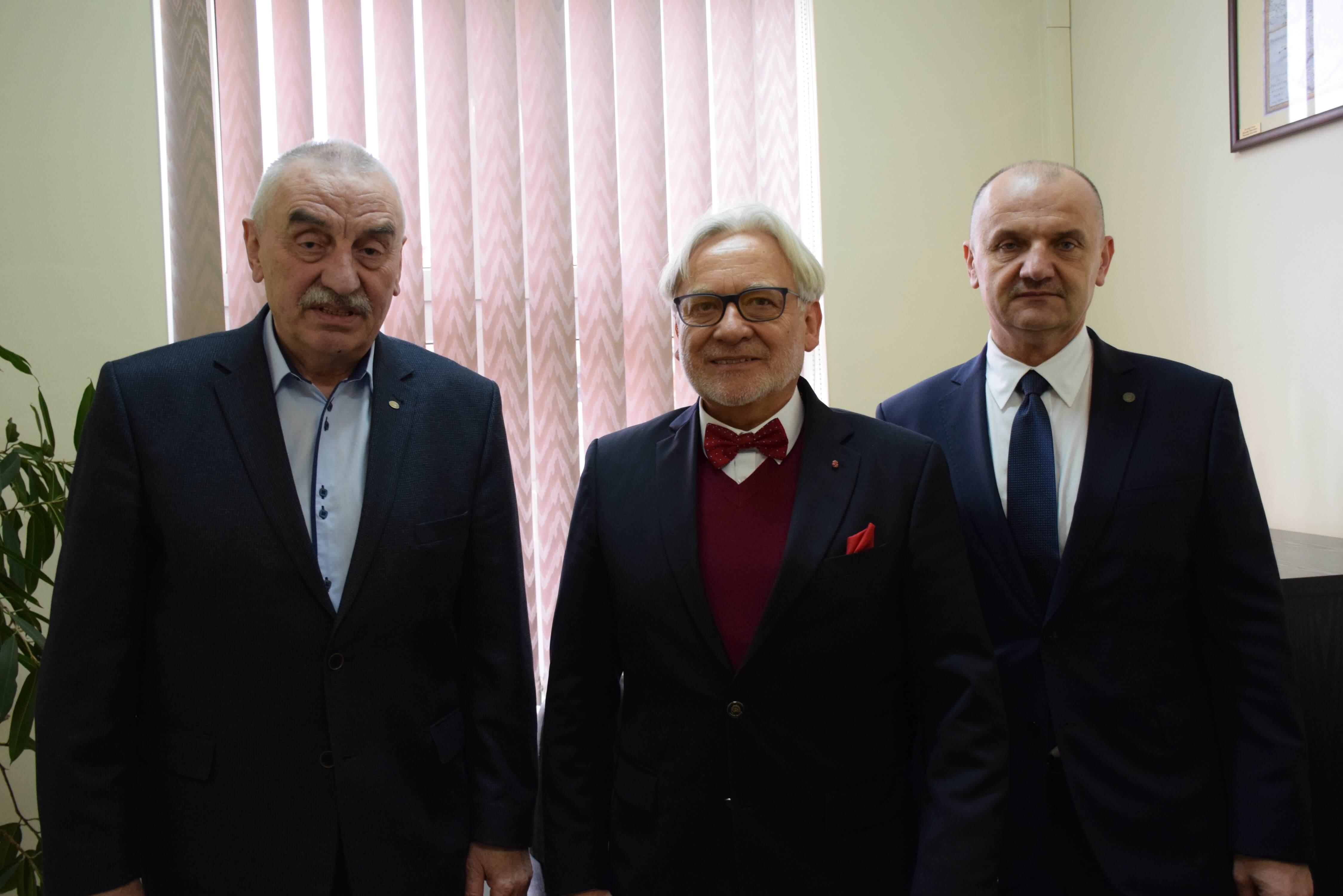 Wizyta Wiceministra Maksymowicza w PWSZ