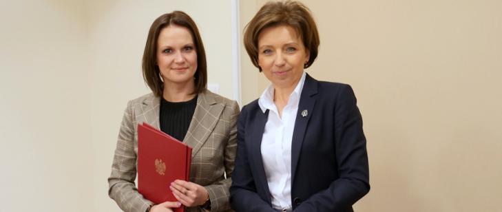 Anna Schmidt-Rodziewicz nowym wiceministrem RPiPS