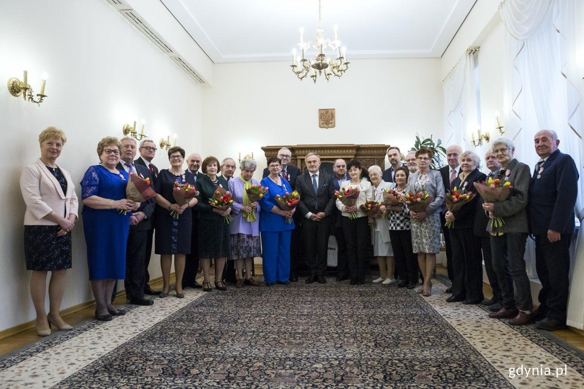Złote Gody w Gdyni – medale dla wytrwałych