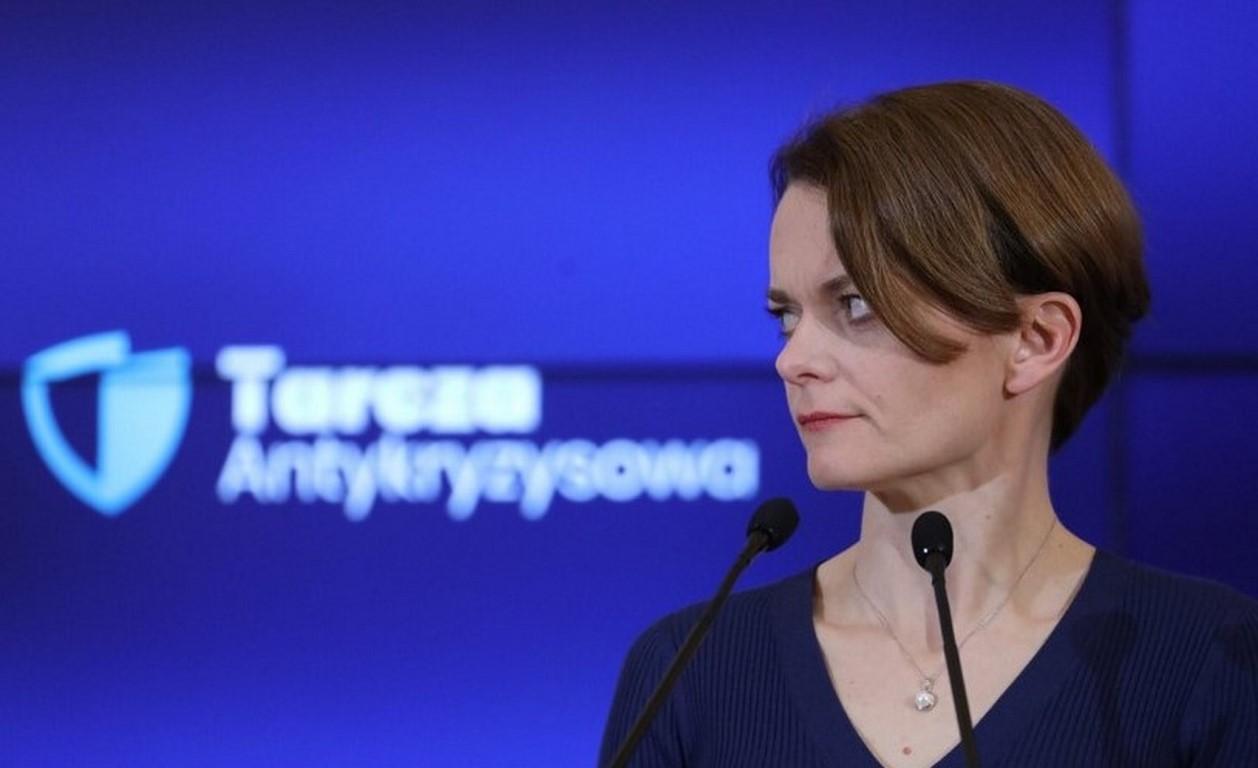 Emilewicz: Dziś rząd przyjmie pakiet antykryzysowy