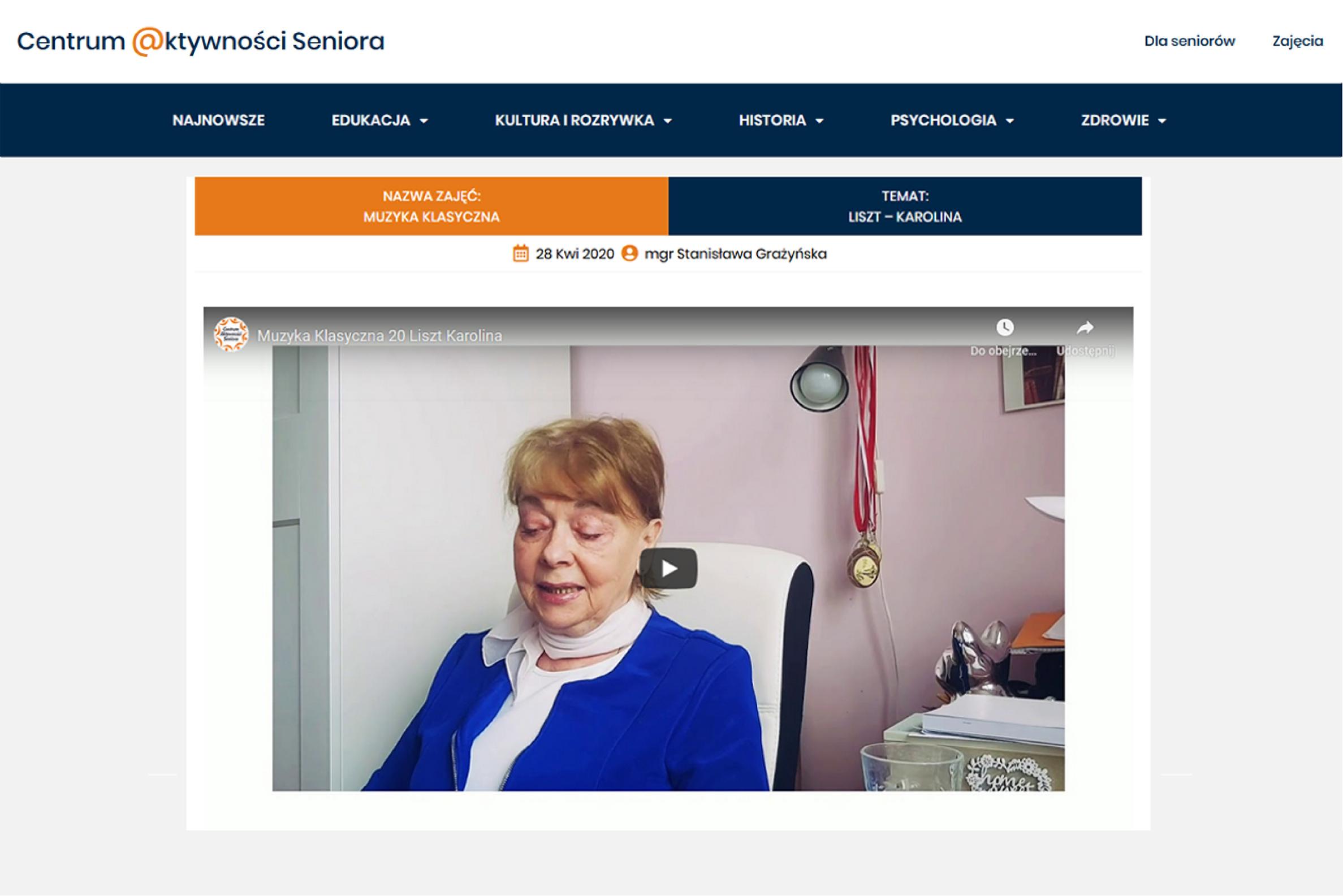 Gdynia: Seniorzy aktywni w internecie
