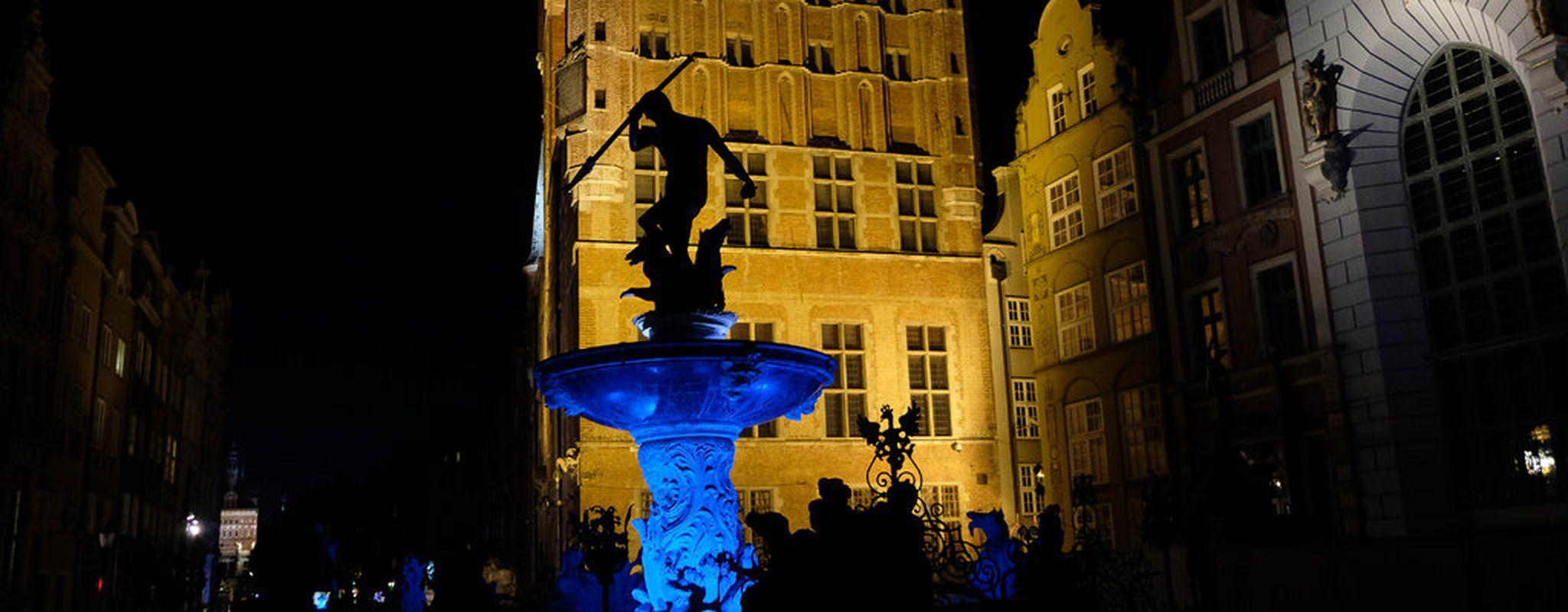 Gdańsk: Autyzm. 400 000 – Neptun na niebiesko