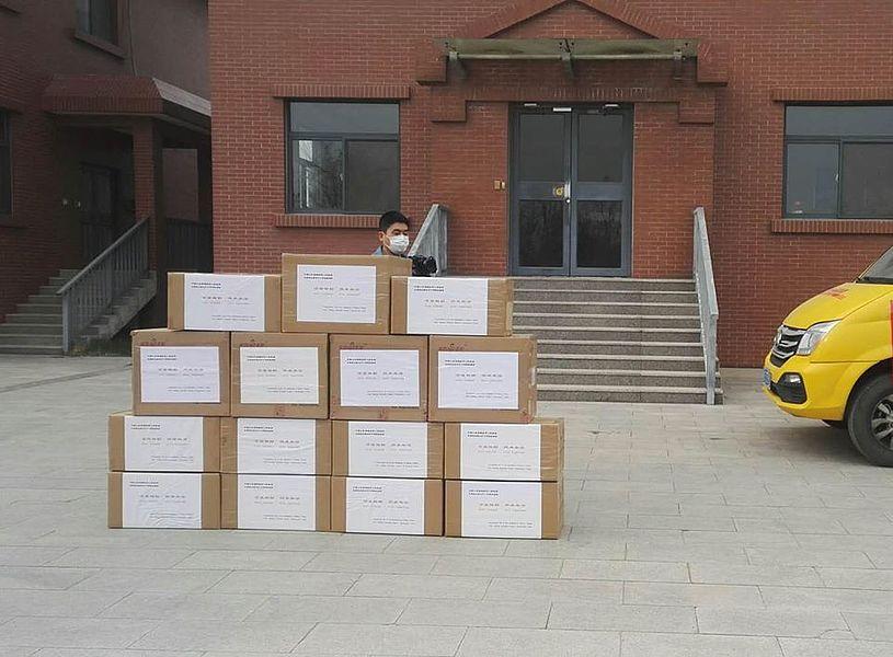Olsztyn: Pomoc z Chin już w drodze