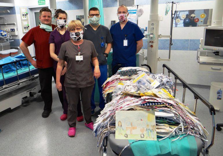 Kilkadziesiąt organizacji i instytucji wsparło dotąd elbląskie szpitale