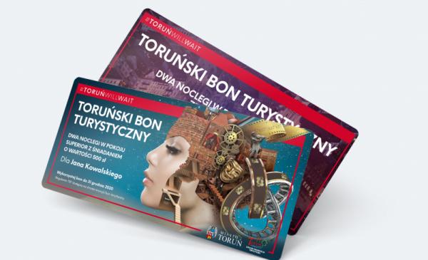 Toruński Bon Turystyczny – kup teraz, wykorzystaj później
