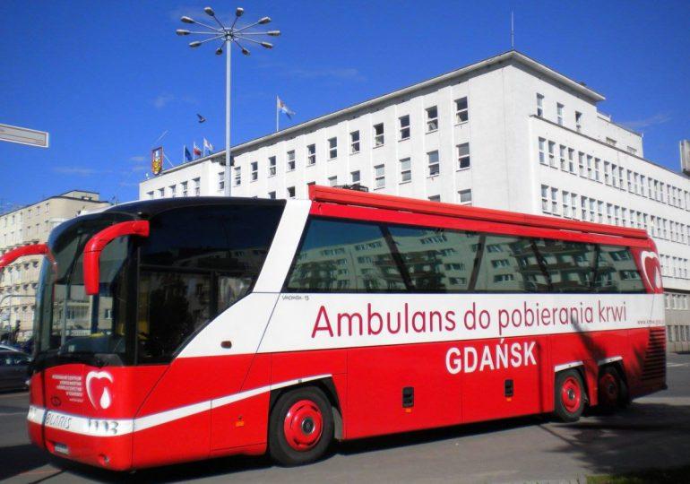 Gdynia: Krwiobus powraca przed Urząd Miasta