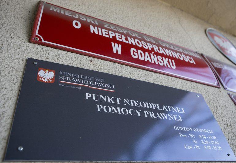 Gdańsk: Bezpłatna zdalna pomoc prawna