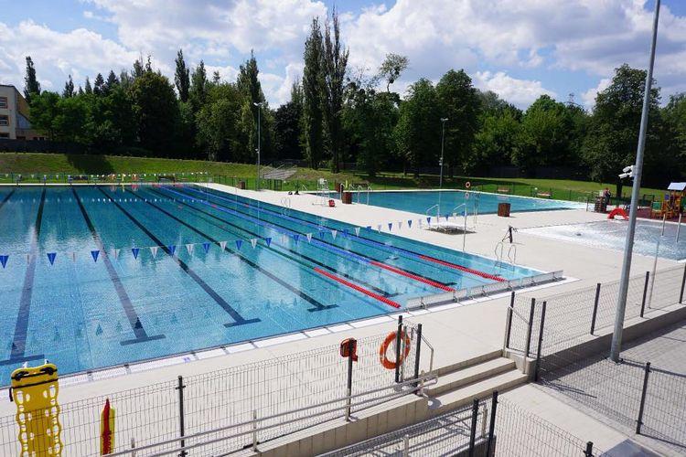 Łódź otwiera baseny i kąpieliska