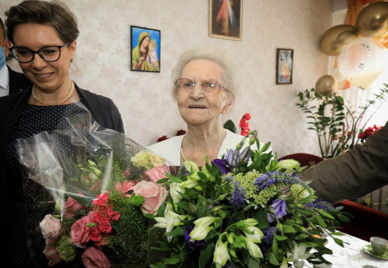 100-latka z Torunia
