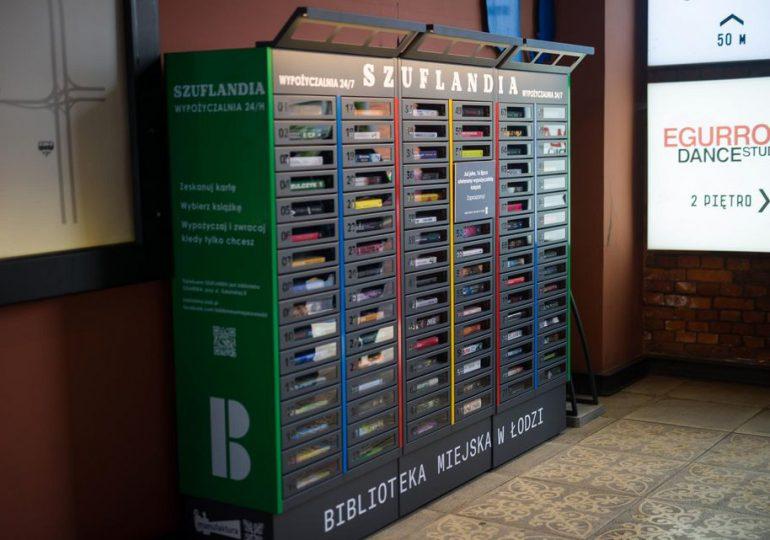 Łódź: Pierwsza w Polsce samoobsługowa biblioteka