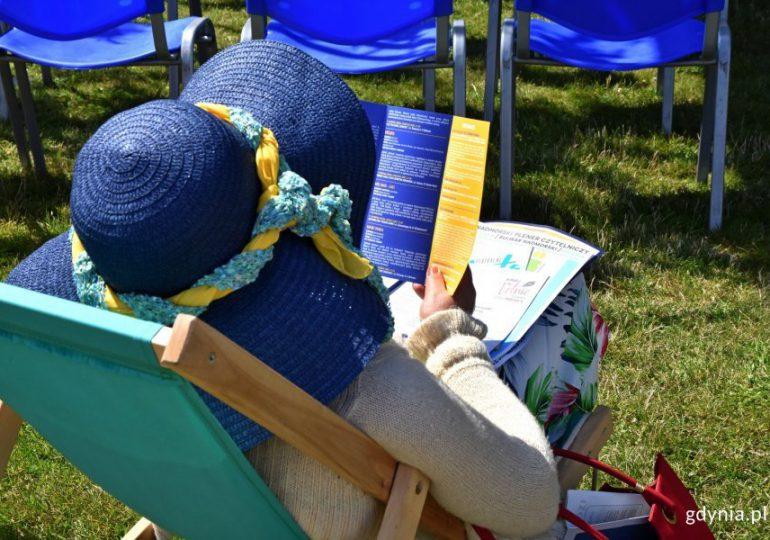 Gdynia: Spotkania z książką w plenerze