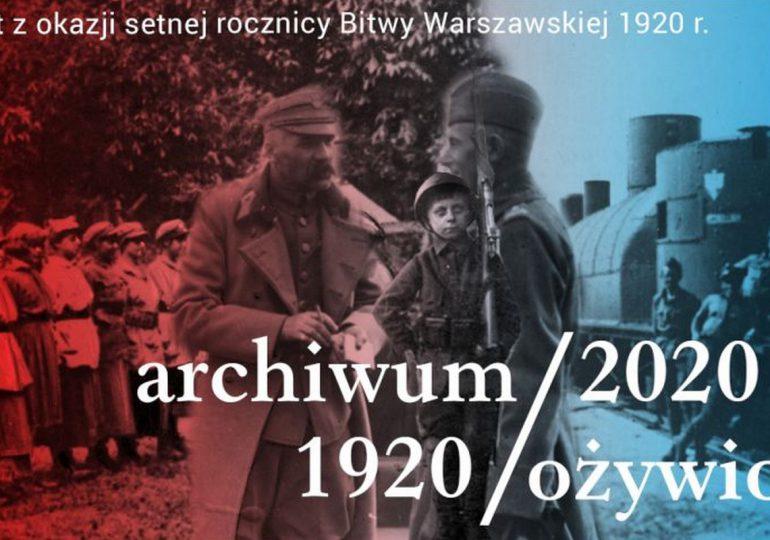 """""""Archiwum Ożywione"""" na 100. rocznicę Bitwy Warszawskiej"""