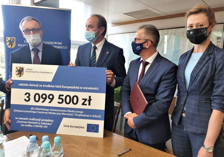 Gdynia: Nowe izolatki i sprzęt do walki z koronawirusem