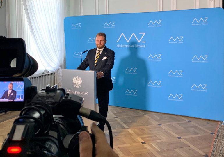 Minister zdrowia Łukasz Szumowski zrezygnował ze stanowiska