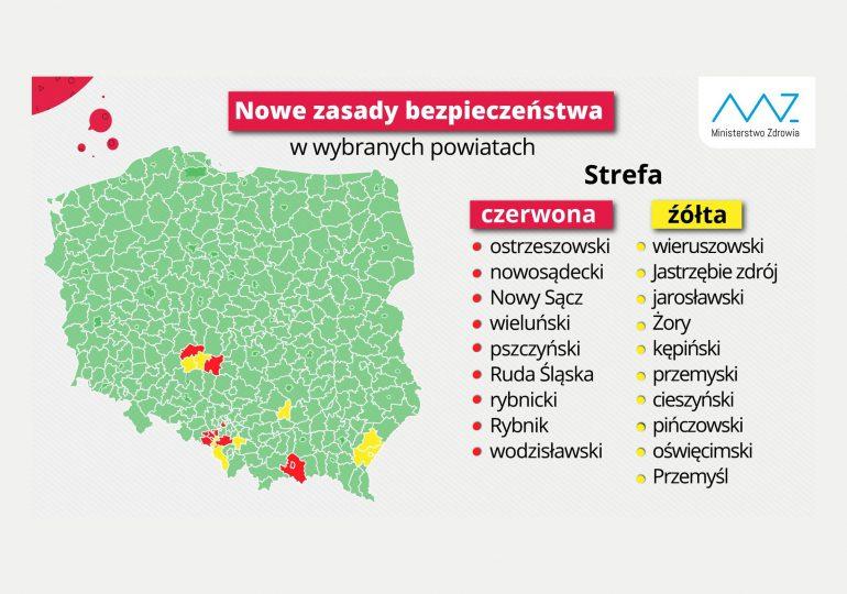 Mało prawdopodobne, by do listy powiatów z restrykcjami dołączyły miasta wojewódzkie