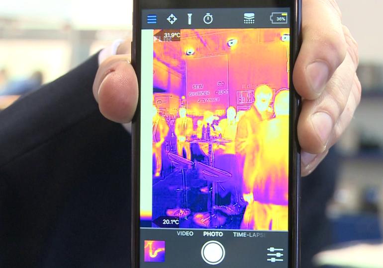 Kamery termowizyjne wspierane przez sztuczną inteligencję wykryją objawy koronawirusa