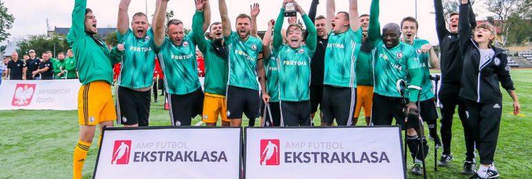 Legia na czele Amp Futbol Ekstraklasy