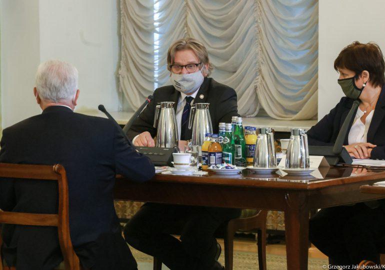 Pinkas: Jestem głęboko przekonany, że wyjdziemy z pandemii wzmocnieni