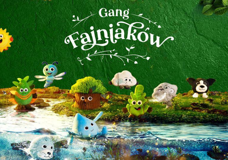 """""""Gang Fajniaków"""" sieci Biedronka uczy dzieci troski o naturę"""