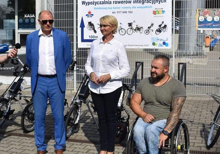 Kołobrzeg bez barier - rowery dla wszystkich