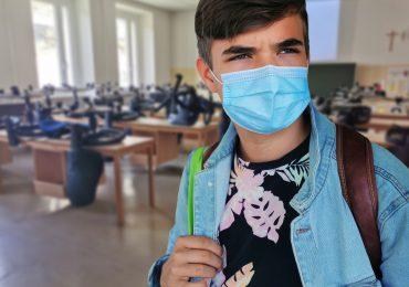 Gdańsk: Nauczyciel i uczeń w czasie pandemii
