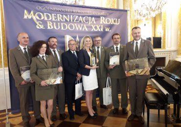 Nadleśnictwo Elbląg zwycięzcą nagrody Modernizacja Roku 2019