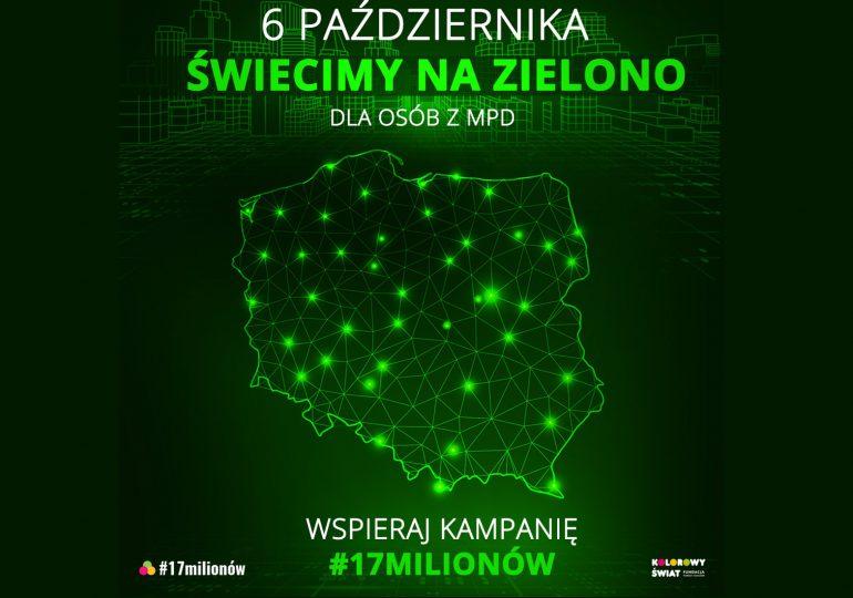 Olsztyn: Zaświeci na zielono
