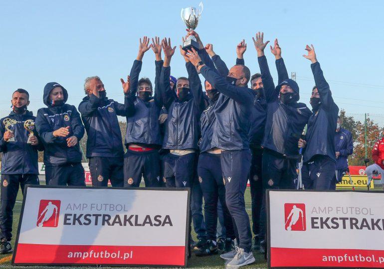 Dominacja przerwana. Historyczne zwycięstwo Wisły Kraków w turnieju Amp Futbol Ekstraklasy