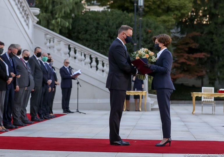 Marlena Maląg ministrem rodziny i polityki społecznej