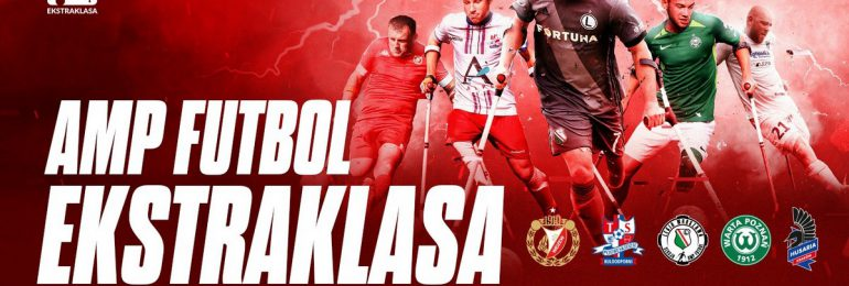 Amp Futbol Ekstraklasa po raz pierwszy zagra w Łodzi