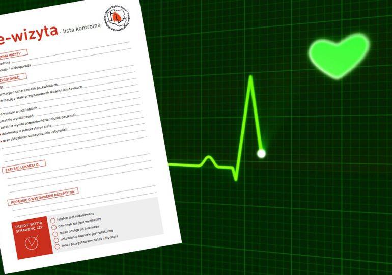 """""""Moja e-wizyta"""" - lista kontrolna dla pacjenta już do pobrania"""