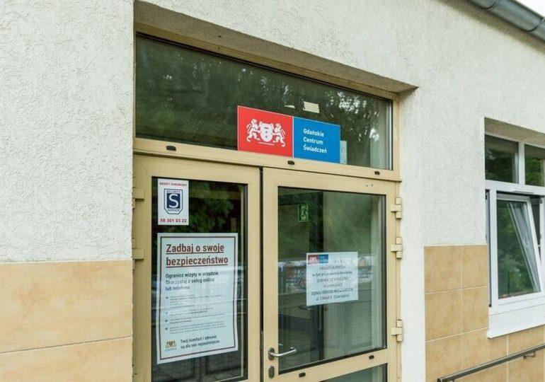 Od listopada zmiana siedziby Działu Obsługi Mieszkańców Gdańskiego Centrum Świadczeń