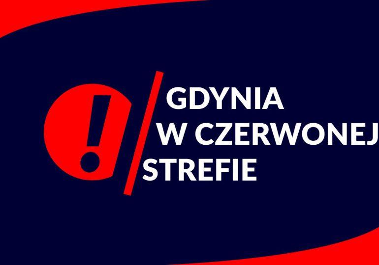 Gdynia w czerwonej strefie zakażeń COVID-19
