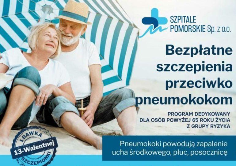 Gdynia: Seniorze – zaszczep się