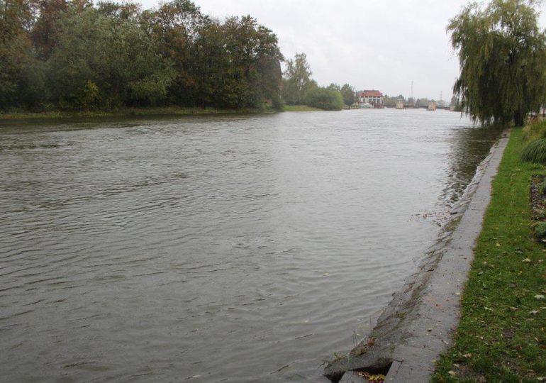 Stan alarmowy na rzece Elbląg