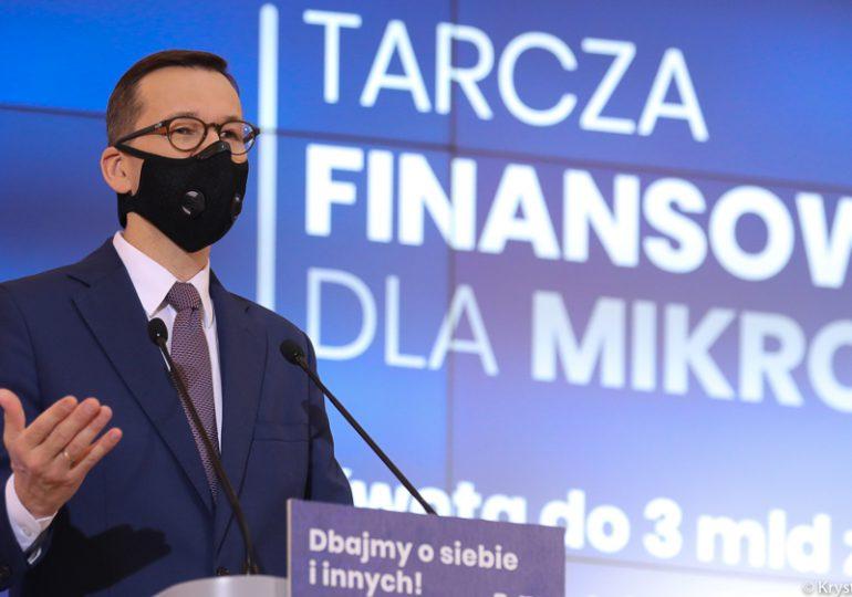 Premier: Do 40 mld zł dla przedsiębiorców i kultury w Tarczy 2.0