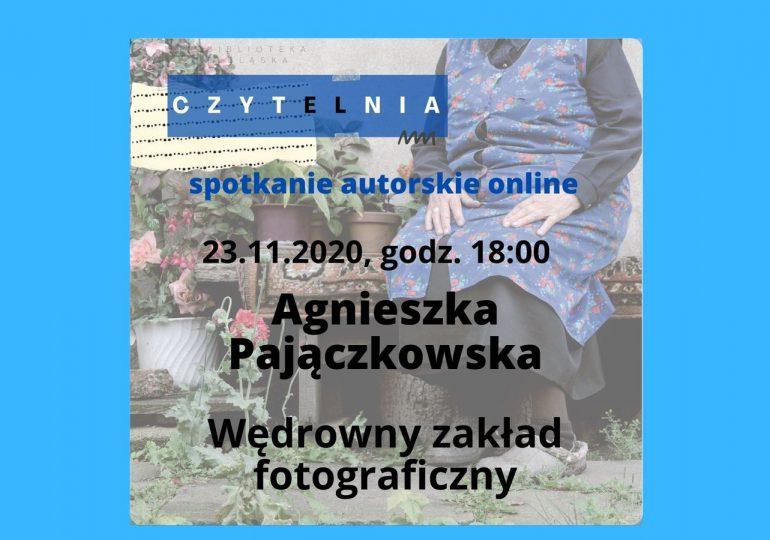 Spotkanie z Agnieszką Pajęczkowską