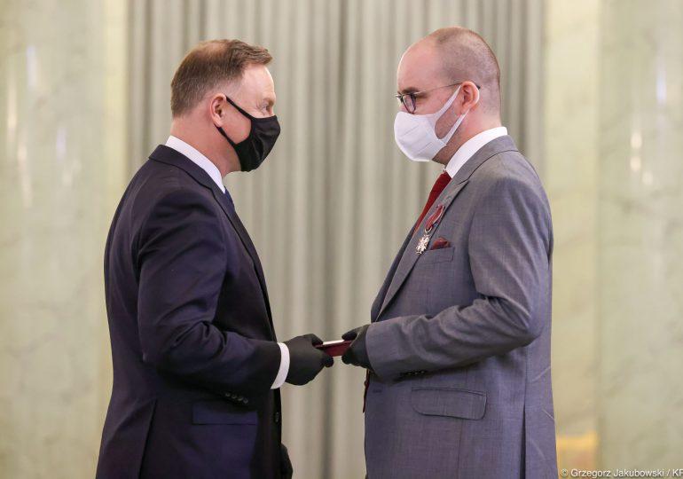 Prezydent odznaczył medyków z misji medycznej w Lombardii