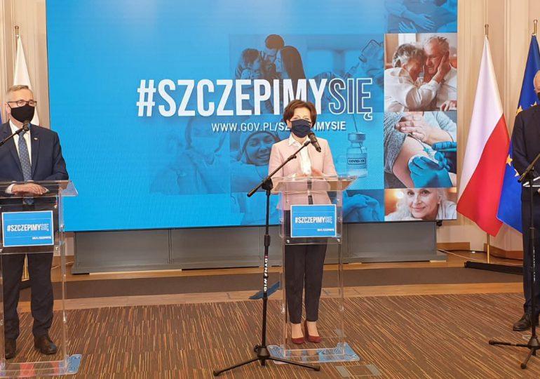 Minister Maląg zachęca pracowników domów pomocy społecznej do szczepień