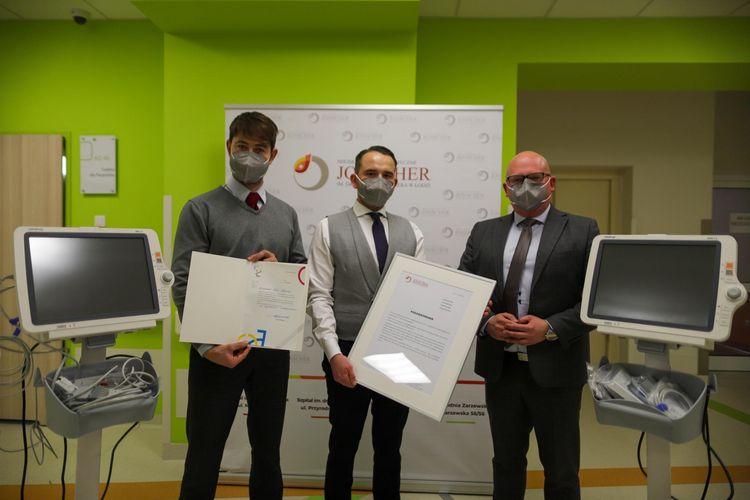 Łódź: Kardiomonitory dla miejskiego szpitala