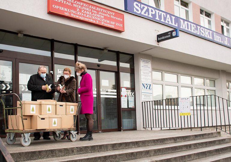 Poznań: Literackie wsparcie dla pacjentów szpitala