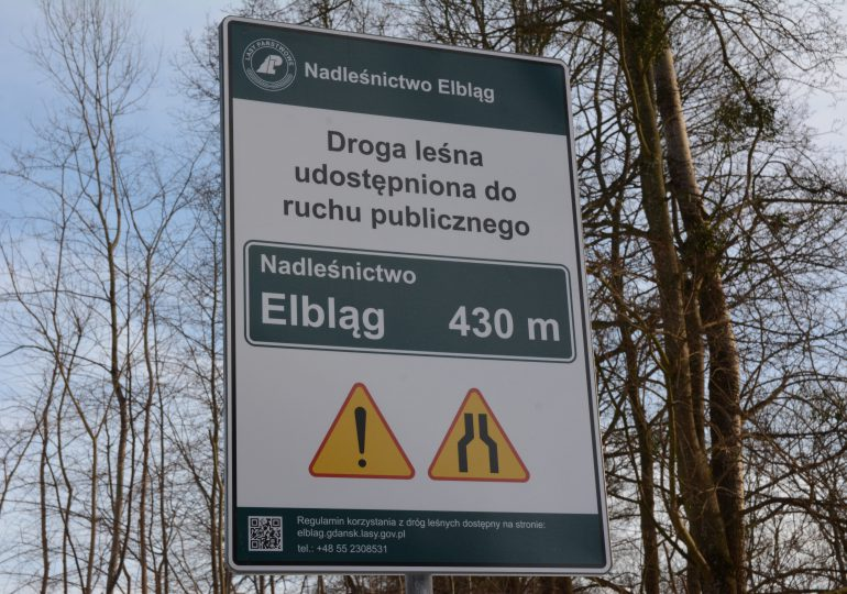 Chcesz wjechać do lasu? Szukaj drogowskazu, który Ci na to pozwoli